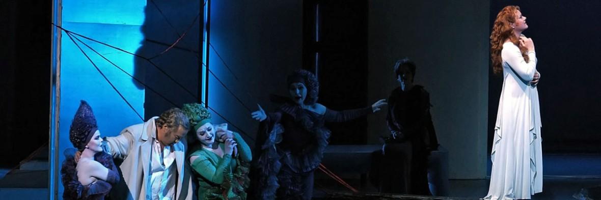 Ariadne auf Naxos in der Semperoper Dresden.