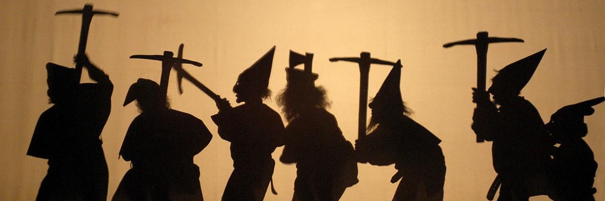 """""""Hänsel und Gretel"""" in der Semperoper Dresden."""