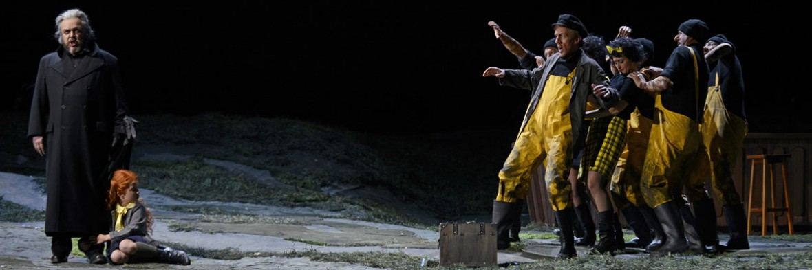 "Oper ""Der fliegende Holländer"" Semperoper Dresden"