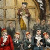 Illustration zur Premiere von 1881