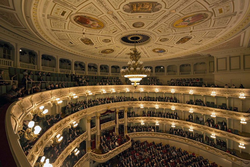 Premiere Madama Butterfly Semperoper